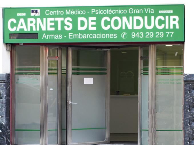Exterior del Centro Médico Psicotécnico Gran Vía