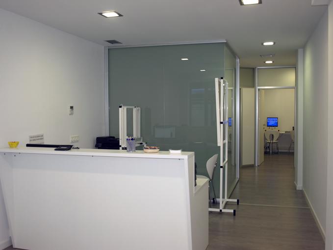 Interior del Centro Médico Psicotécnico Gran Vía