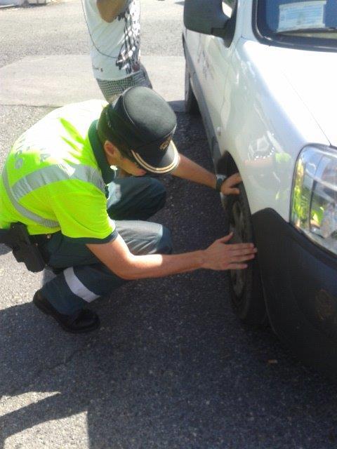 Psicotécnicos: Más de 10.000 conductores han sido denunciados por circular con deficiencias en los vehículos.