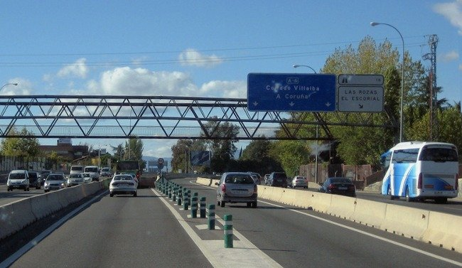 Renovar carné de conducir: ¿Qué es un carril VAO?